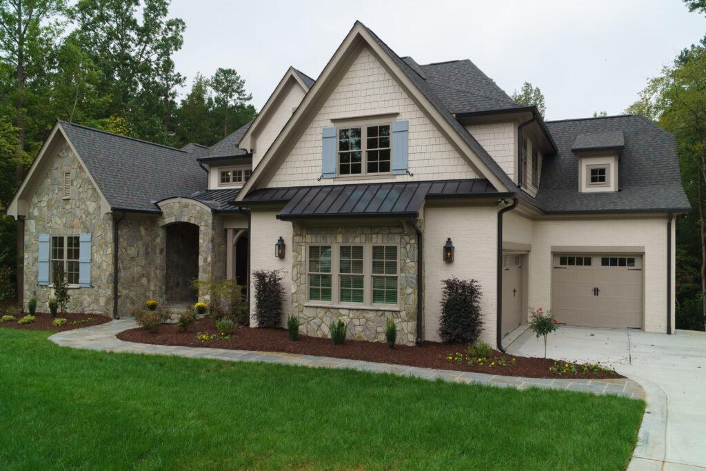 Custom, Suburban Home