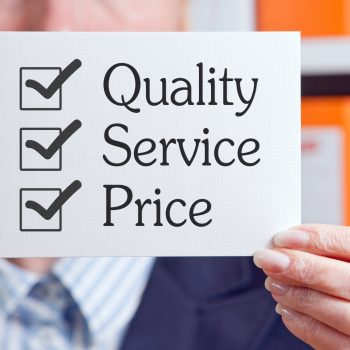 Quality,-,Service,-,Price
